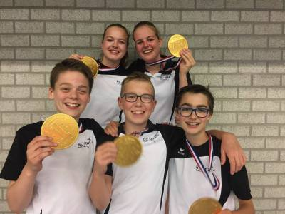 Team 5 is kampioen geworden in de klasse U15.
